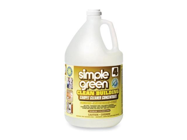 simple green 11201 Clean Building Carpet Cleaner Concentrate, Unscented, 1 gal. Bottle