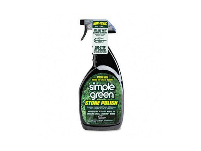 simple green 18402 Streak-Free Stone Polish, Unscented, 32 oz. Bottle