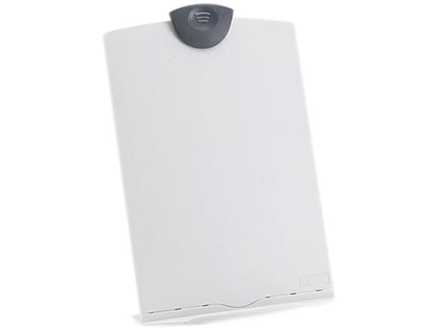 Fellowes 20000 Freestanding Desktop Copy Stand/Clipboard, Plastic, 75 Sheet Capacity, Platinum