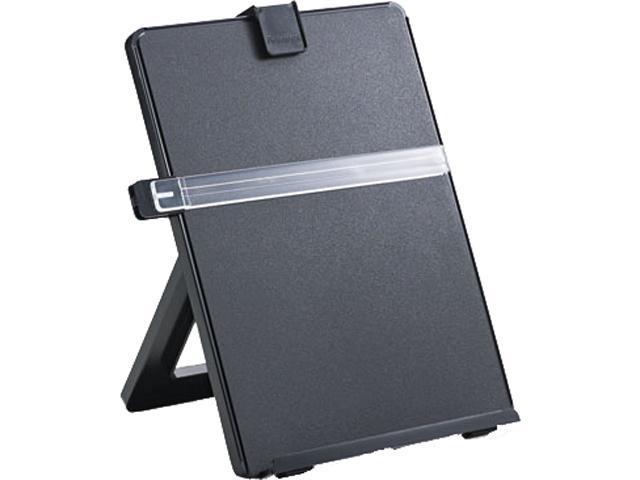 Fellowes 21106 Non-Magnetic Legal-Size Desktop Copyholder, Plastic, Black