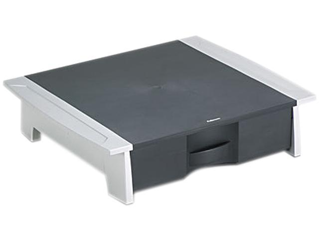 Fellowes 8032601 Printer/Fax Machine Stand, 21 1/4 x 18 1/8 x 5 1/4, Black/Silver