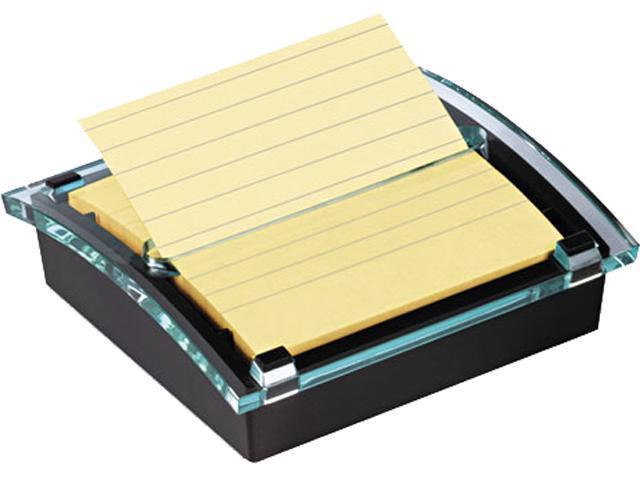 Post-it Pop-up Notes Super Sti DS440-SSVP Super Sticky Pop-up Note Dispenser/Value Pack, 4 x 4 Self-Stick Notes,Black