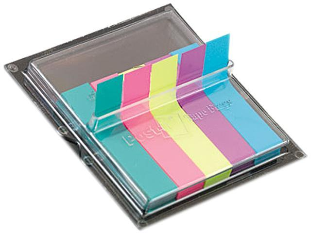 Post-it Flags 688-AST2 Flags in Dispenser, Five Bright Colors, 75/Color, 375 Flags/Pack