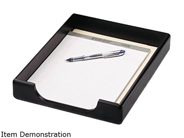 Rolodex 62523 Wood Tones Letter Desk Tray, Wood, Black