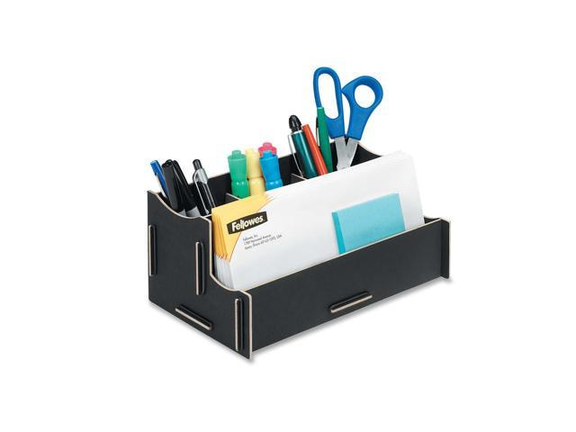 Fellowes Earth Series 100% Recycled Organizer, Black