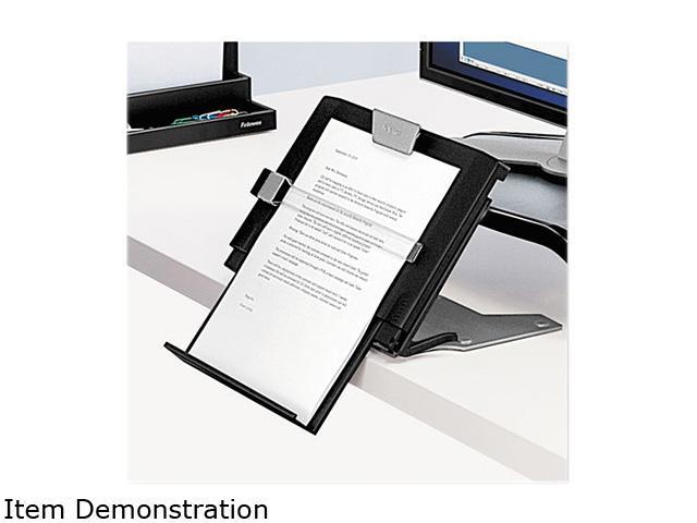 Fellowes Professional Series Document Holder, 12w x 8d x 17 1/4h, Slate Gray/Silver