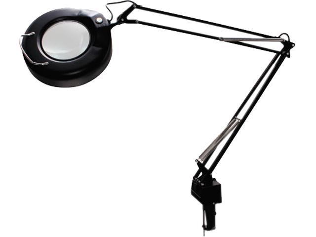 Ledu L745BK Clamp-On Fluorescent Swing Arm Magnifier Lamp, 5