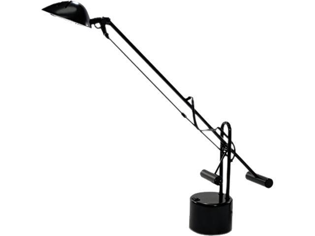 Ledu L9075 Counter-Balanced Halogen Desk Lamp, Black, 18 Inches Reach