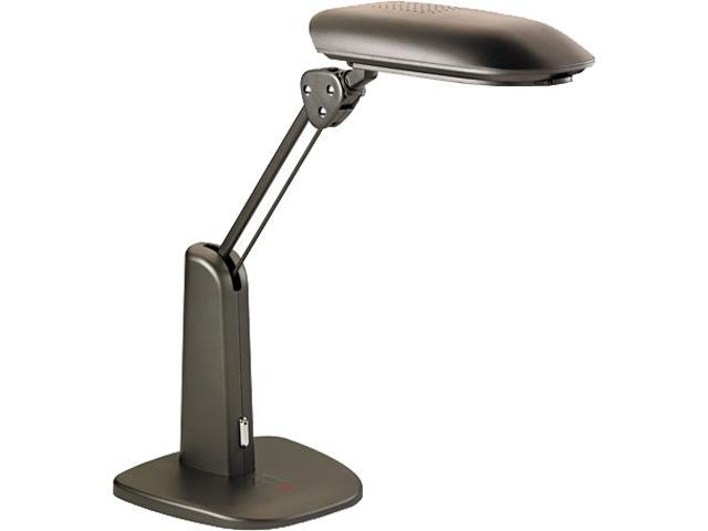 3M TL1000C Low-Glare Compact Fluorescent Polarizing Task Lamp, Weighted Base, 21