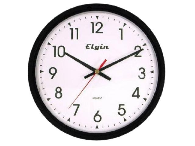 geneva 3980gg black 14 inch quartz analog wall clock. Black Bedroom Furniture Sets. Home Design Ideas