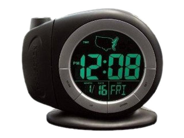 Geneva Clock Company 3468E Projection Time Ready Alarm Clock
