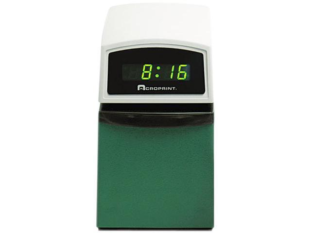 Acroprint 01-6000-001 ETC Digital Automatic Time Clock with Stamp