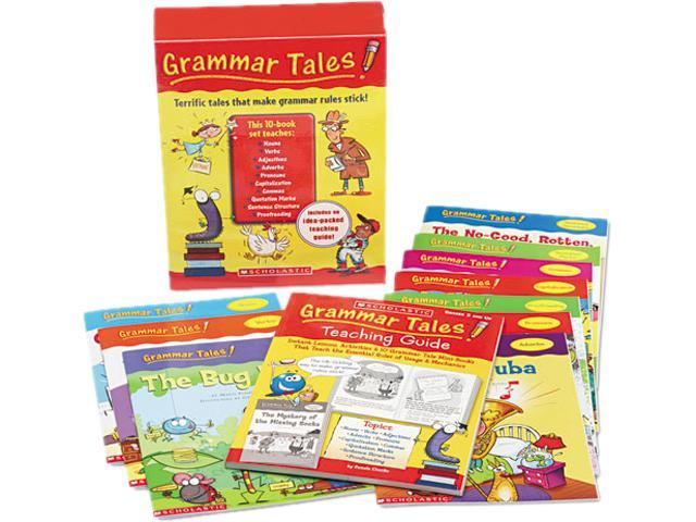 Scholastic 0545067707 Grammar Tales Teaching Guide, Grades 3 and Up, 120 Pages