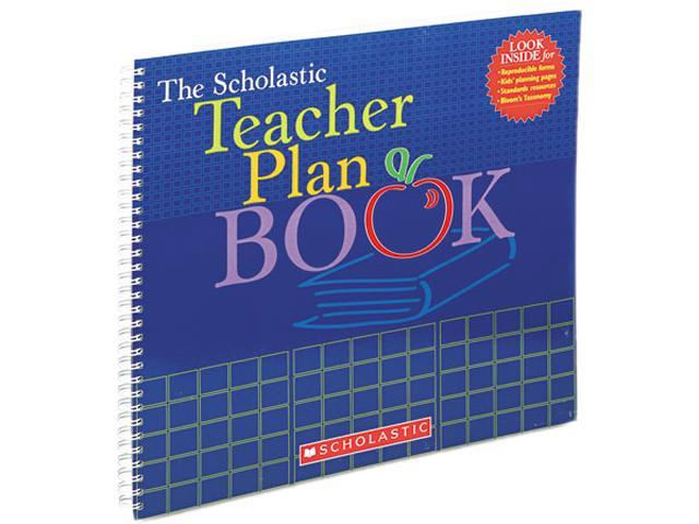 Scholastic 0439710561 Teacher Plan Book (Updated), Grade K-6, 13 x 11, 96 pages