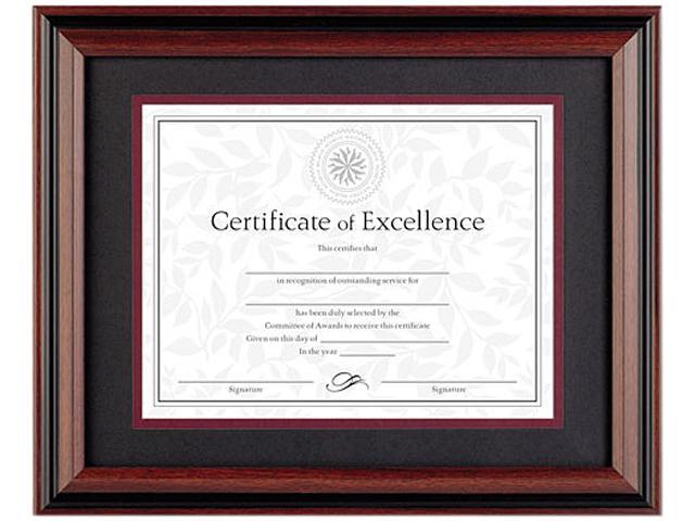 "DAX N15786ST Burnes Document Frame, 16"" x 13"" Frame - 11"" x 8.50"" Insert - Desktop, Wall Mountable - Horizontal, Vertical ..."