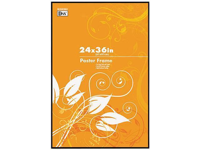 DAX N16024BT Burnes Black U-Channel Poster Frame