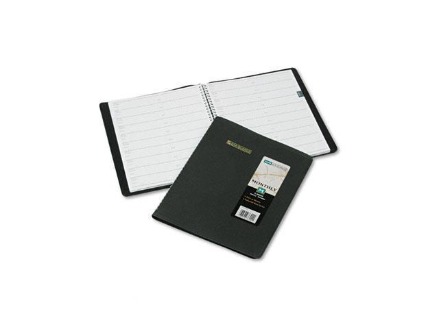 AT-A-GLANCE 70-130-05 Recycled Monthly Planner, Black, 8