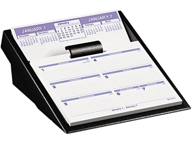 "AT-A-GLANCE SW700X-00 Flip-A-Week Desk Calendar and Base, 5 5/8"" x 7"""