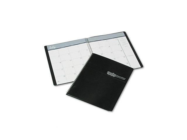House of Doolittle 265-02 Academic Ruled Monthly Planner, 14-Month July-August, 8-1/2 x 11, Black