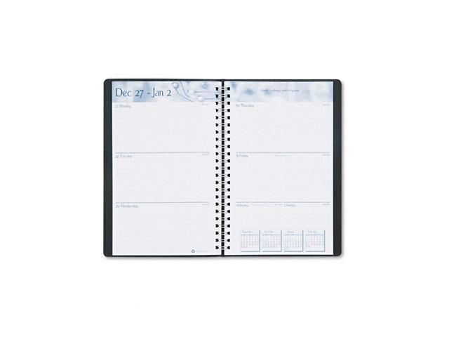 House of Doolittle 275-02 Academic Weekly/Monthly Appointment Book/Planner, August-August, 5 x 8, Black