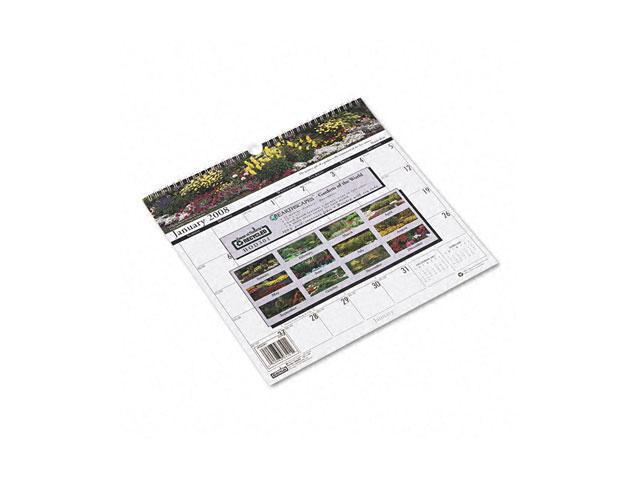 House of Doolittle 301 Gardens of the World Monthly Wall Calendar, 12 x 12