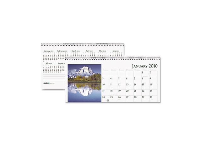 House of Doolittle 3649 Scenic Photos Desk Tent Monthly Calendar, 8-1/2 x 4-1/2
