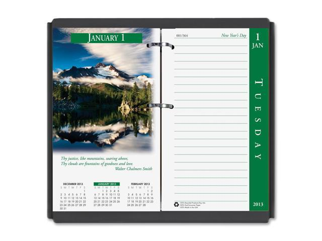 House of Doolittle 417 Earthscapes Daily Calendar Refill, 3-1/2w x 6h