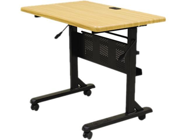 BALT 89870 Flipper Training Table, Rectangular, 36w x 24d x 29-1/2h, Teak