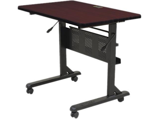 BALT 89876 Flipper Training Table, Rectangular, 36w x 24d x 29-1/2h, Mahogany