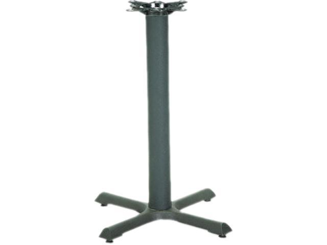 HON BBX22P Single Column Cast Iron Base, 22w x 22d x 27-7/8h, Black