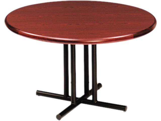 Iceberg 69030 OfficeWorks Four-Column Round Table Base 31w x 29h, Black