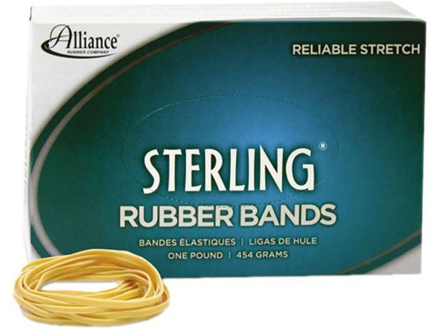 Alliance 24545 Sterling Ergonomically Correct Rubber Bands, #54, Assorted Sizes, 1lb Box