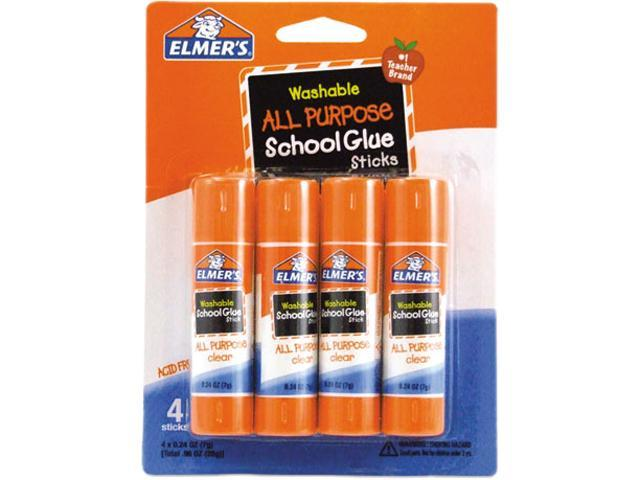 Elmer's E542 - Washable All Purpose School Glue Sticks, 4/Pack