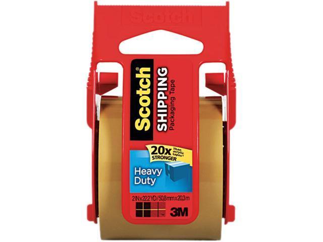 Scotch 143 3850 Heavy Duty Packaging Tape in Sure Start Dispenser, 2