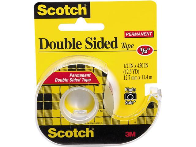 MMM 137 - Scotch Double Sided Tape With Dispenser 0.50