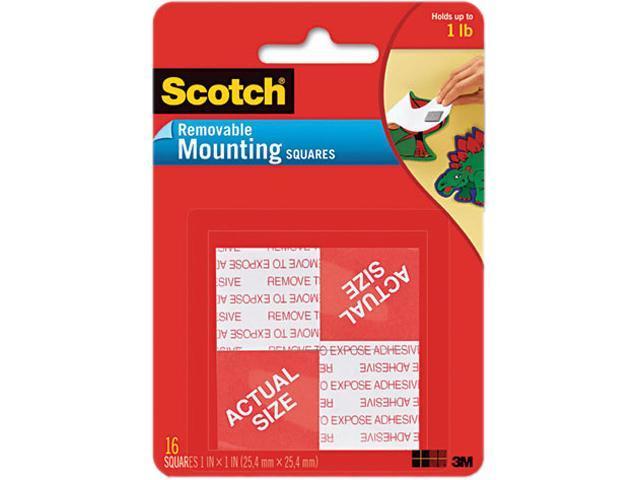 Scotch 108 Precut Foam Mounting 1