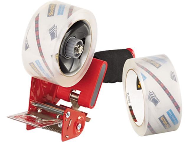 Scotch 3850-2ST Packaging Tape Dispenser with Two Rolls of Tape, 1.88