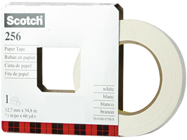 Scotch 256-1/2 256 Printable Flatback Paper Tape, 1/2