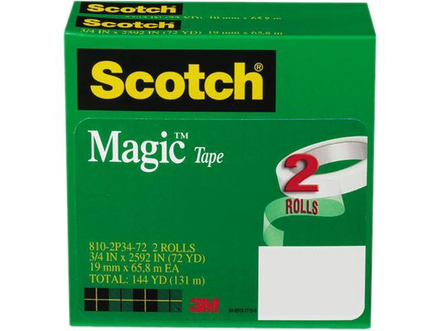Scotch 810-2P34-72 Magic Tape, 3/4
