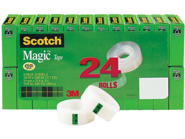 Scotch 810K24 Magic Office Tape Value Pack, 3/4