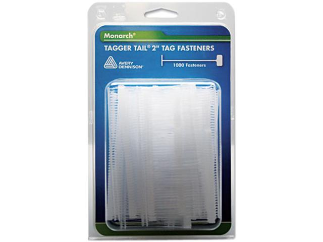 "Monarch 925045 Tagger Tail Fasteners, Polypropylene, 2"" Long, 1000/Pack"