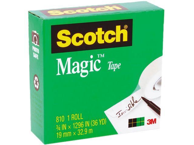 Scotch 810-34-1296 Magic Office Tape, 3/4