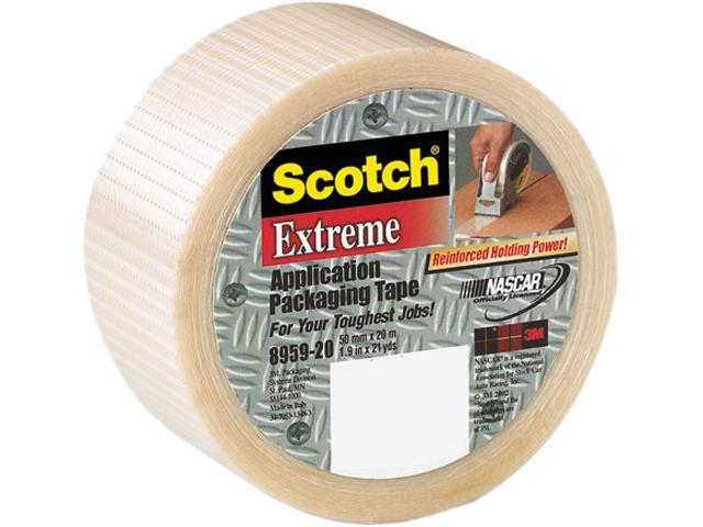 "Scotch 8959 Extreme Application Packaging Tape, 1.88"" x 54.6 yards, 3"" Core"