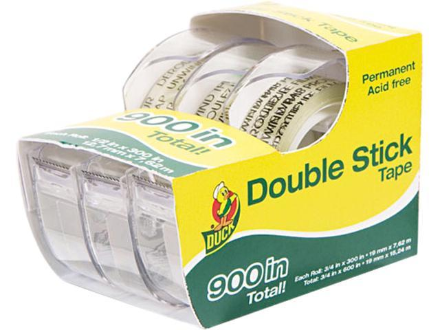 Duck Permanent Double-Stick Tape, 1/2