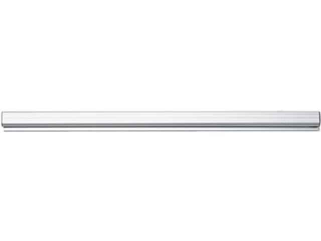 Advantus 2000 Grip-A-Strip Display Rail, 24 x 1 1/2, Aluminum Finish