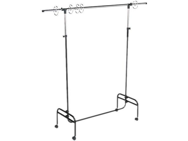 "Carson-Dellosa Publishing CD-7550 Adjustable Mobile Chart Stand, 48"" to 75"" High, Steel, Black"