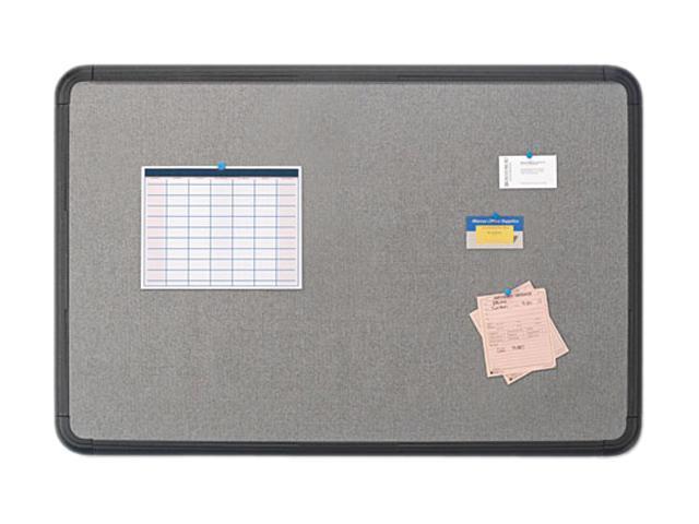 Iceberg 35041 Ingenuity Fabric Board, Resin Frame, 48 x 36, Black