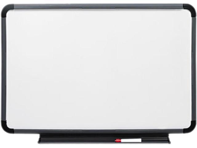 Iceberg 37039 Ingenuity Dry Erase Board, Resin Frame with Tray, 36 x 24, Charcoal