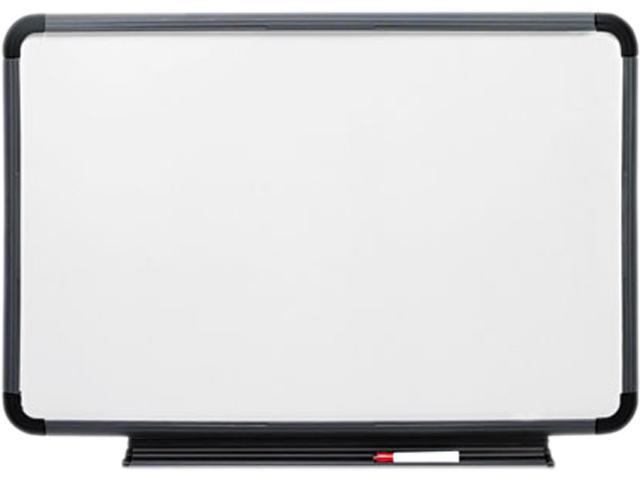 Iceberg 37049 Ingenuity Dry Erase Board, Resin Frame with Tray, 48 x 36, Charcoal