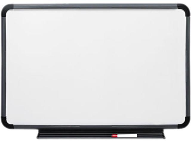 Iceberg 37069 Ingenuity Dry Erase Board, Resin Frame with Tray, 66 x 42, Charcoal